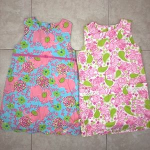 Lilly Pulitzer Girls Shift Dress Bundle Size 6